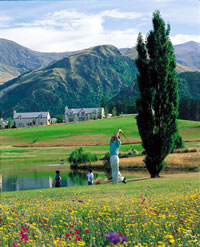 Golfing Vacation in New Zealand