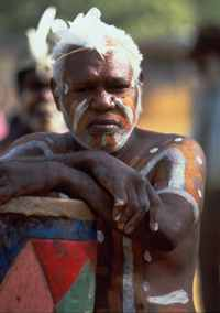 An Aboriginal elder, Central Australia
